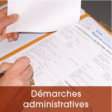 Demarches administratives 01